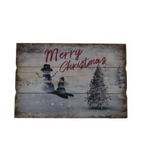 MERRY CHRISTMAS WALL PICTURE