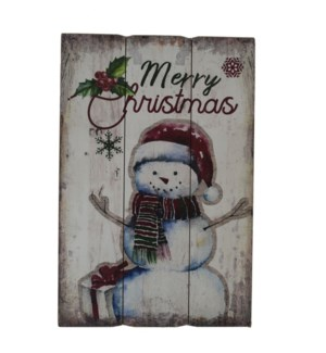 SNOWMAN WALL PICTURE