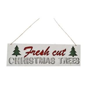 FRESH CUT CHRISTMAS TREE ORN