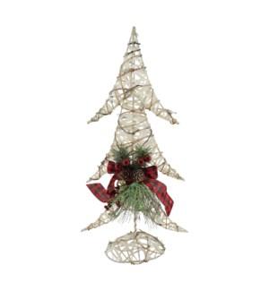 "20"" CHRISTMAS TREE W/CONE &"