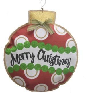 CHRISTMAS DECOR (8PC)