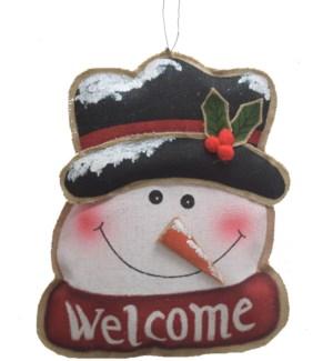 CHRISTMAS DECOR SNOWMAN