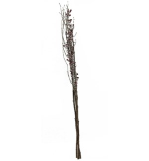 """45""""RED BERRY BRANCH (20PC)"""