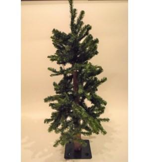 2 FT. ALPINE TREE W/105 TIPS