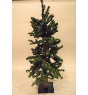 3 FT.  ALPINE TREE W/195 TIPS