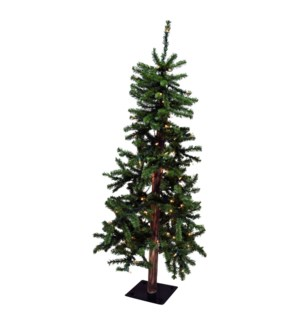 7 FT. ALPINE TREE W/250 LIGHTS
