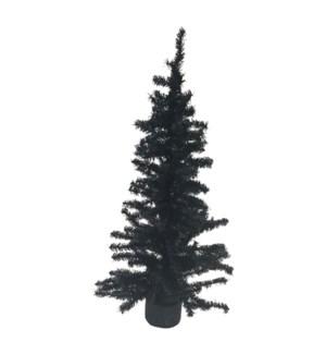 """24"""" BLACK MINI CANADIAN TREE"""