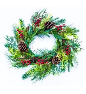 CHRISTMAS MIX PINE/BERRY/CONE