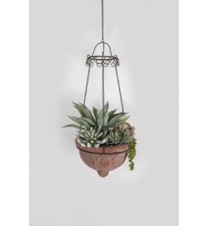Tuscan Hanging Planter