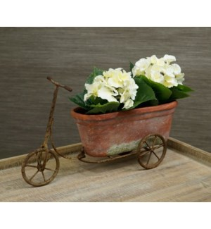 Bike table Planter