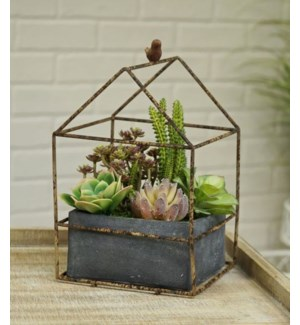 Bird Terratium Planter