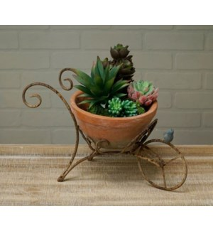 Scroll Cart Planter