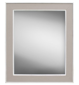 Taupe Mirror, 24x30