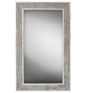 Coastal Shiplap Mirror, 18x36