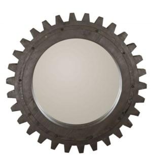 Cog Wheel Mirror Small
