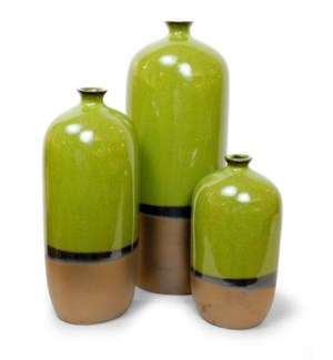 Marco Collection, Green (set of 3)