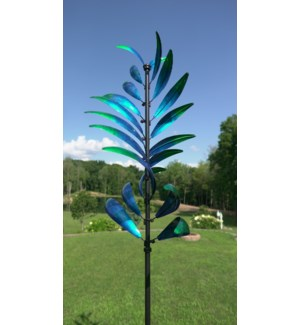 Feather Spinner, Blue