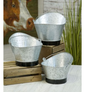Bucket Planter Set