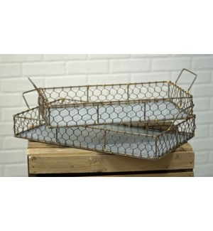 Chicken Wire Tray
