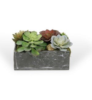 Rectangle Slate Planter