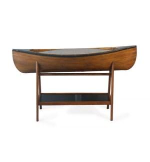 Canoe Side Table