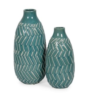 Costa, Turquoise (set of 2)