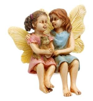 Sitting Fairy Sisters