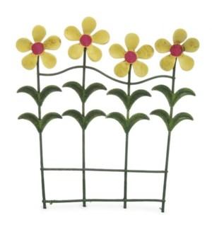 Flower Fence (4 Flowers)