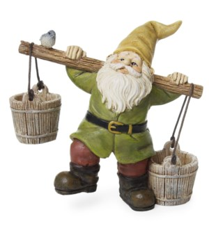 Gnome with Buckets