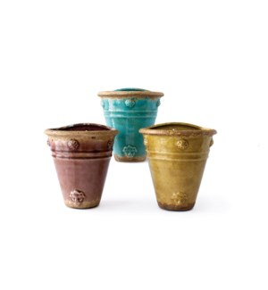Florenzia Wall Planters (6 assorted)