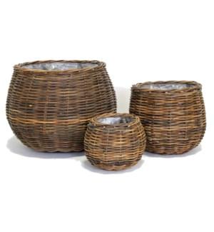 Bali Basket, Brown