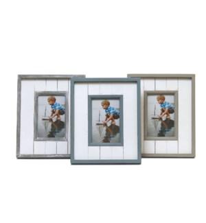 Coastal Picture Frames, 6 pcs. Asst