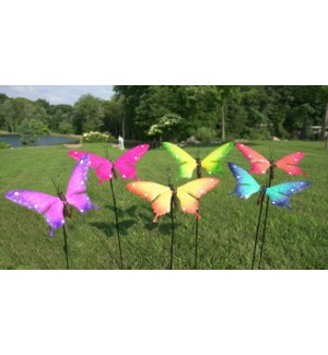 Large Butterfly Stake