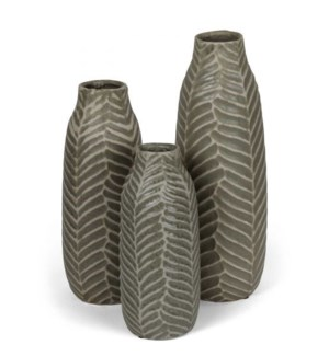 Fernwood Collection, Taupe (set of 3)
