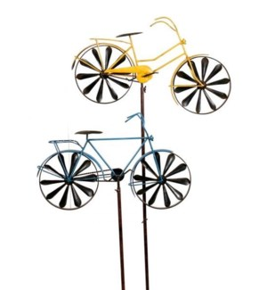Bicycle Spinner, 8 Assort