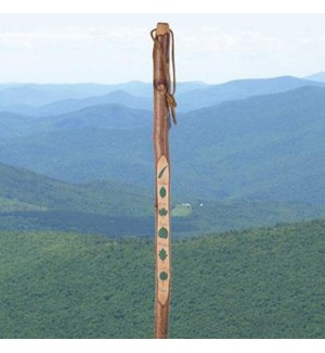 Leaf Hiking Stick. 52hinch.