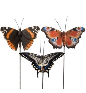 Butterfly on pole ass.