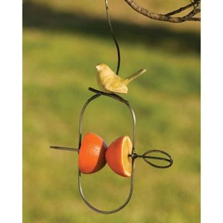 Yellow Bird Fruit Spear, Hanging 8.5x2x14 inch. Pg.49 - On Sale 50 percent off original price 12.6