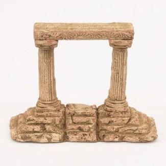 Miniature Clay Ruins Corner Step Column, 7 x 2.5 x 6.5inch. FD 6.30 - On Sale 50 percent off origi