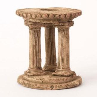 Miniature Clay Ruins Circle Column, 4.5 x 6.5inch. FD 6.30 - On Sale 50 percent off original price