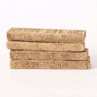 Miniature Clay Ruins Lintels, 4.5 x .5inch. FD 6.30 - On Sale 50 percent off original price 9.9