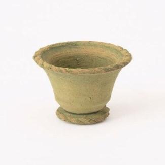 Miniature Green Terra Cotta Pot 2.5x2 inch. Pg.62 - On Sale 50 percent off original price 3.6