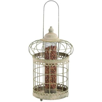 AM green squirrel proof nut feeder -  9.06x9.06x36
