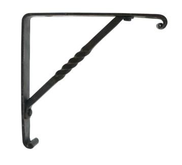 Forged Corner Hook Bracket  Iron. 6x6inch.