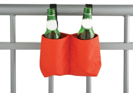 Balcony bottle holder. Polyester. 20,0x7,0x14,0cm. oq/12,mc/96FD