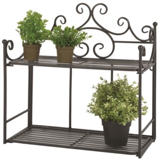 Wall etagere wide - (18.8x8.3x19.5 inches) On Sale - 35 percent off original price 39.25