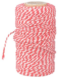 Striped cooking yarn. Cotton. 6,2x6,2x10,8cm. oq/24,mc/144 Pg.89
