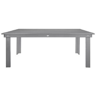 Rectangular table grey. Pinewood. 28.7x70.9x30.7inch.