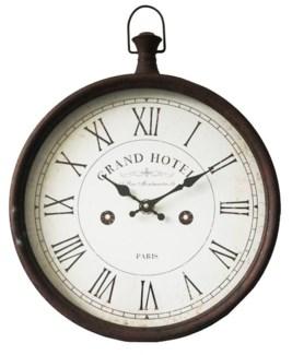 Grand Hotel Roman Numeral Clock, 19x12.5x17 Inches
