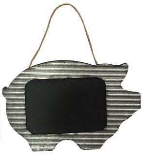 Pig Blackboard Wall Hanger, 24x0.8x15.8